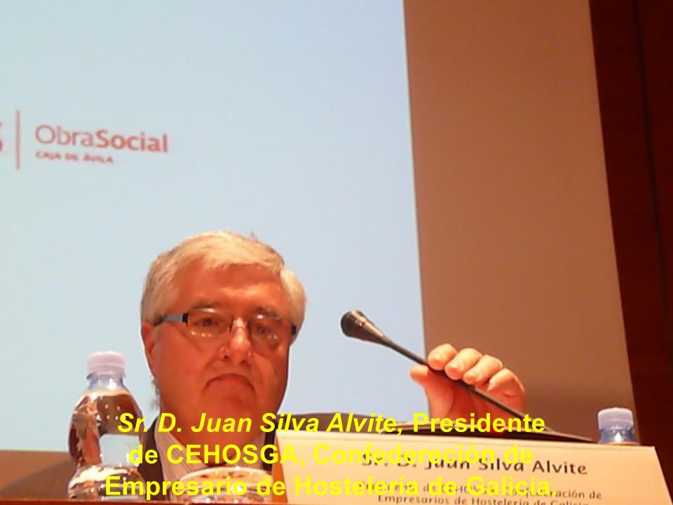 Sr. D. Jesús Asorey Carril, Presidente de la Asociación de Cámaras Jacobeas.