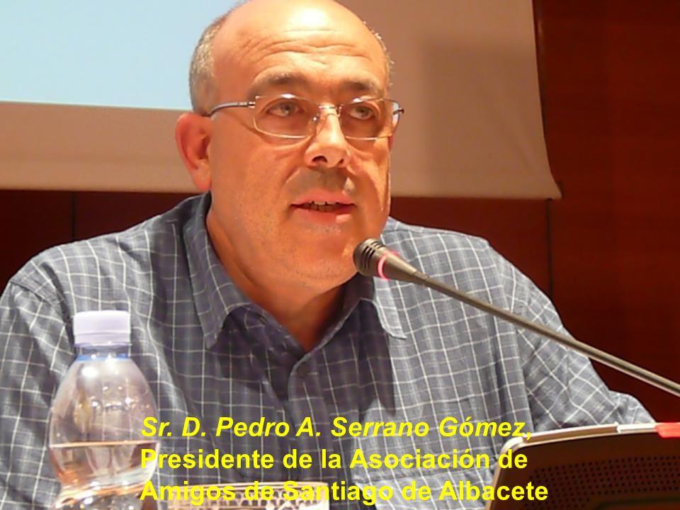 Cuarta Mesa, El Camino de Madrid y los Caminos del Centro. Ponente y Moderador, Sr. D. Jorge Martínez-Cava, Vicepresidente de la Asociación de Amigos