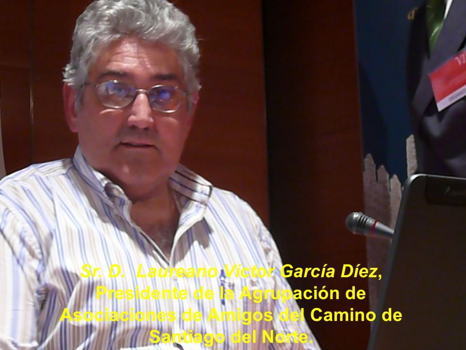 Sr. D. José Blas Rodríguez, Sacerdote y Presidente de la Asociación de Amigos del Camino de Santiago Vía de la Plata de Fuenterroble de Salvatierra.