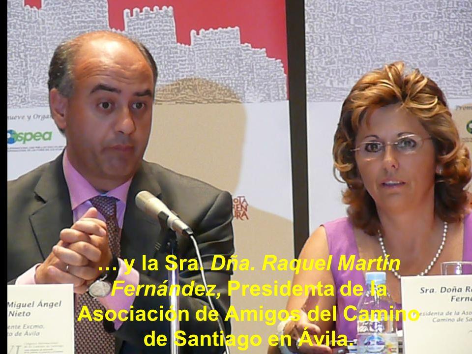 En el Acto de inauguración interviene el Exmo. Sr. D. Miguel Ángel García Nieto, Alcalde del Exmo. Ayunt. de Ávila que dirigió unas palabras de bienve