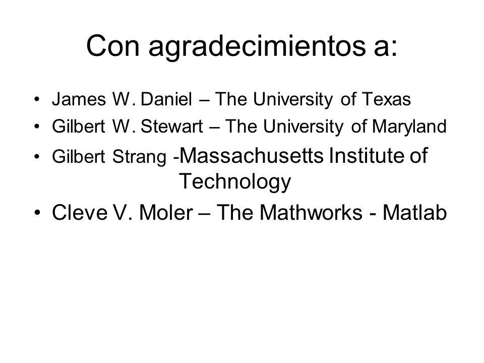 Diagonalización de Matrices no simétricas