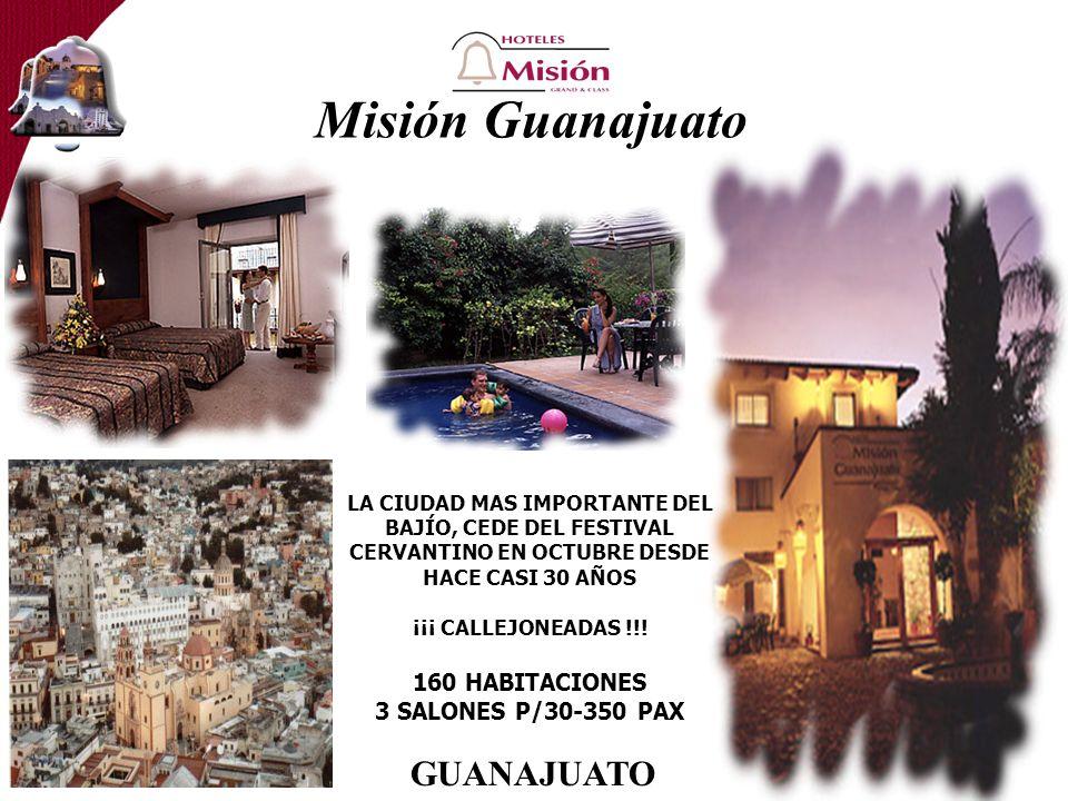 Misión Guanajuato LA CIUDAD MAS IMPORTANTE DEL BAJÍO, CEDE DEL FESTIVAL CERVANTINO EN OCTUBRE DESDE HACE CASI 30 AÑOS ¡¡¡ CALLEJONEADAS !!.