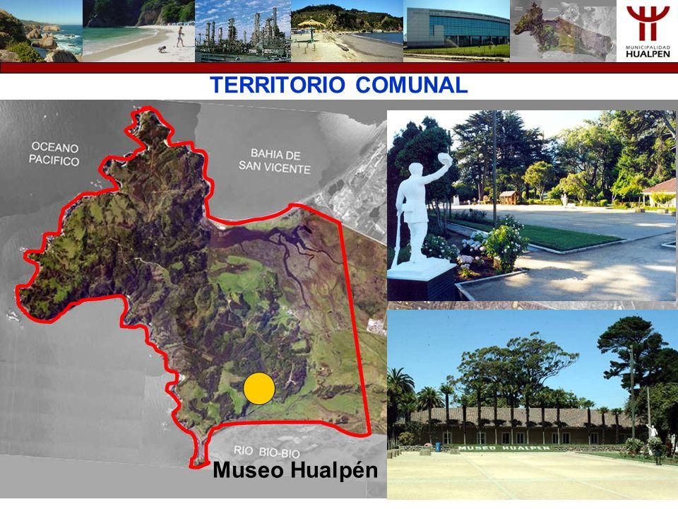 TERRITORIO COMUNAL Museo Hualpén