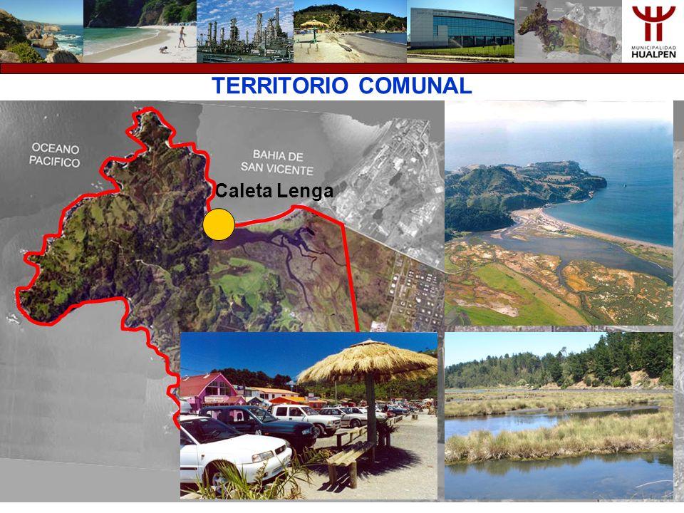 TERRITORIO COMUNAL Caleta Lenga