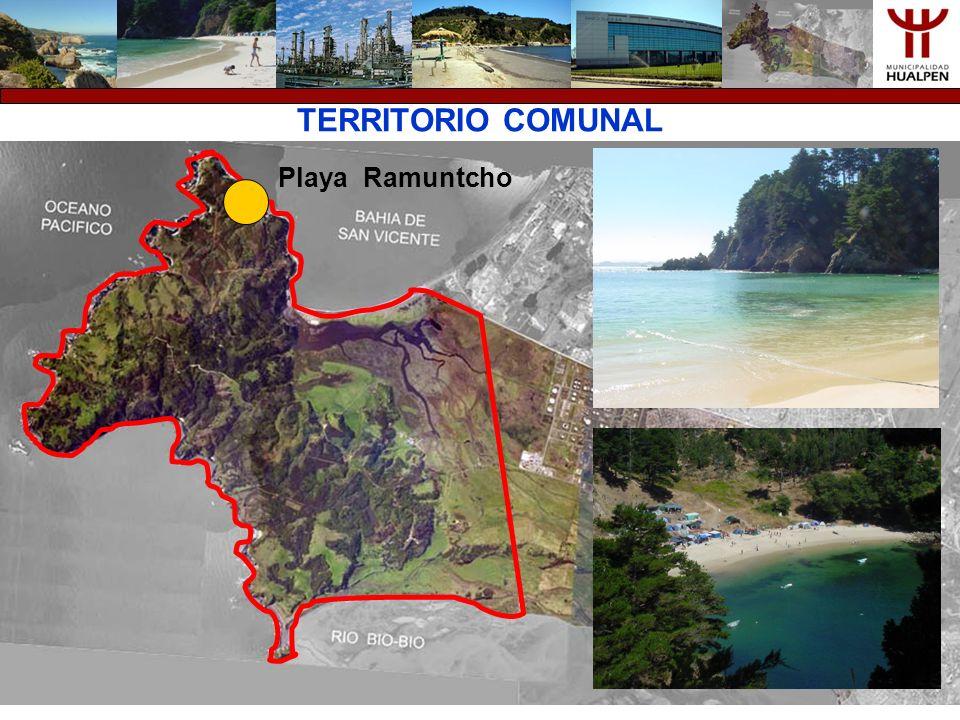 TERRITORIO COMUNAL Punta Hualpén