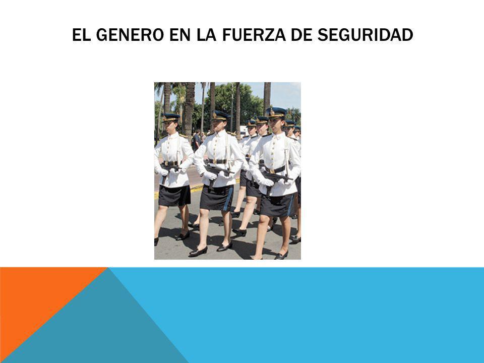 EL GENERO EN LA FUERZA DE SEGURIDAD