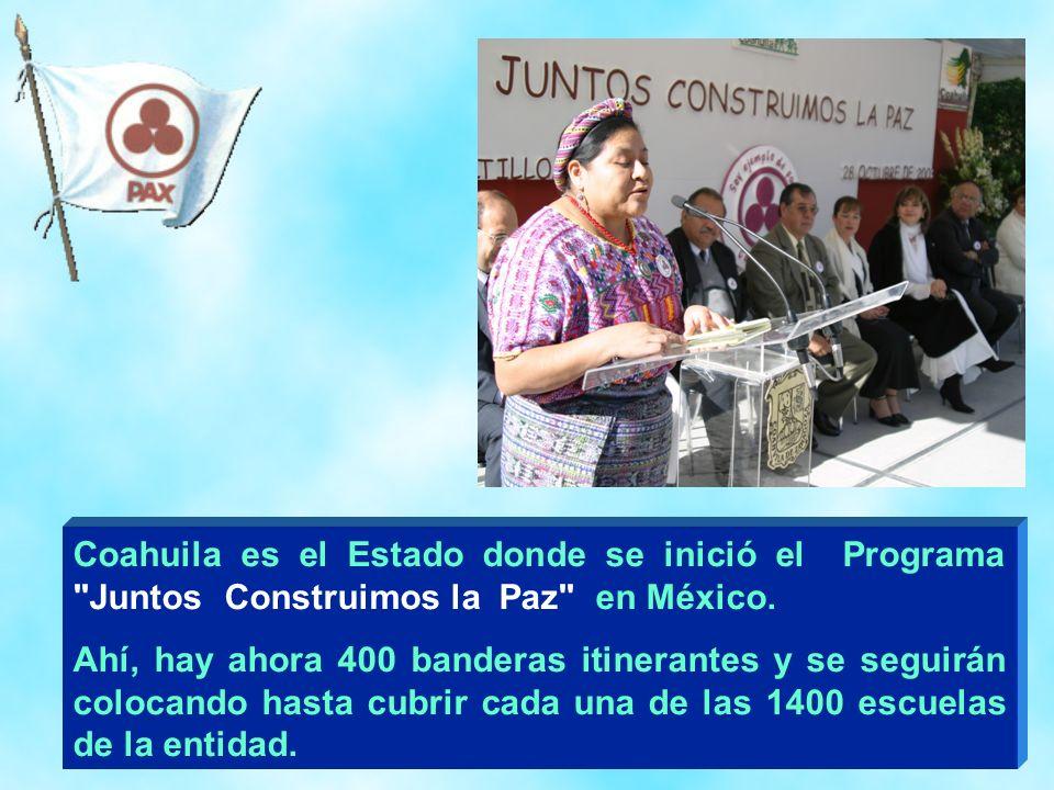 22 Coahuila es el Estado donde se inició el Programa