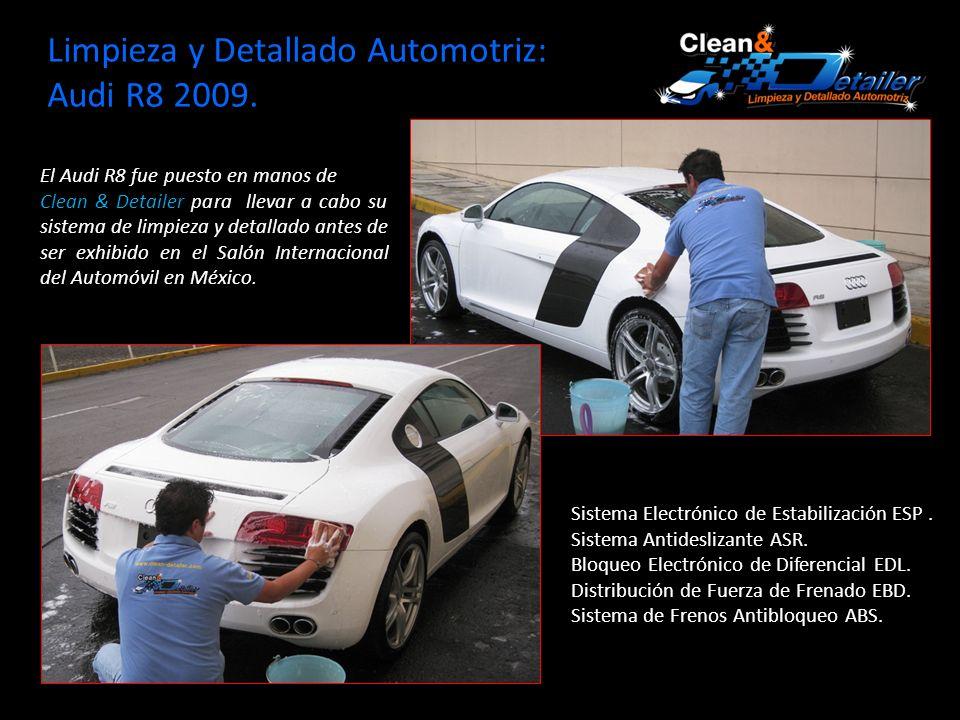 Limpieza y Detallado Automotriz: Audi R8 2009.Sistema Electrónico de Estabilización ESP.