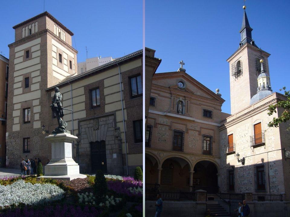 Torre de los Lujanes Iglesia de San Ginés Mandada construir por D.Alvaro de Luján en 1494, sirvió de residencia al rey Francisco I de Francia cuando fue hecho prisionero por el soldado Juan de Urbieta en la batalla de Pavía en 1520.