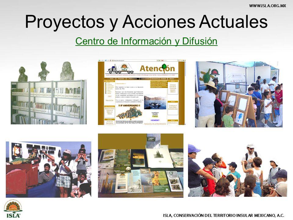 Centro de Información y Difusión Proyectos y Acciones Actuales