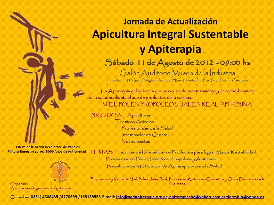 Programa de Actividades 09:00 hs: Recepción, Inscripciones y Entrega de Materiales 09:30 hs: No Buscar Solo Miel en el Apiario.