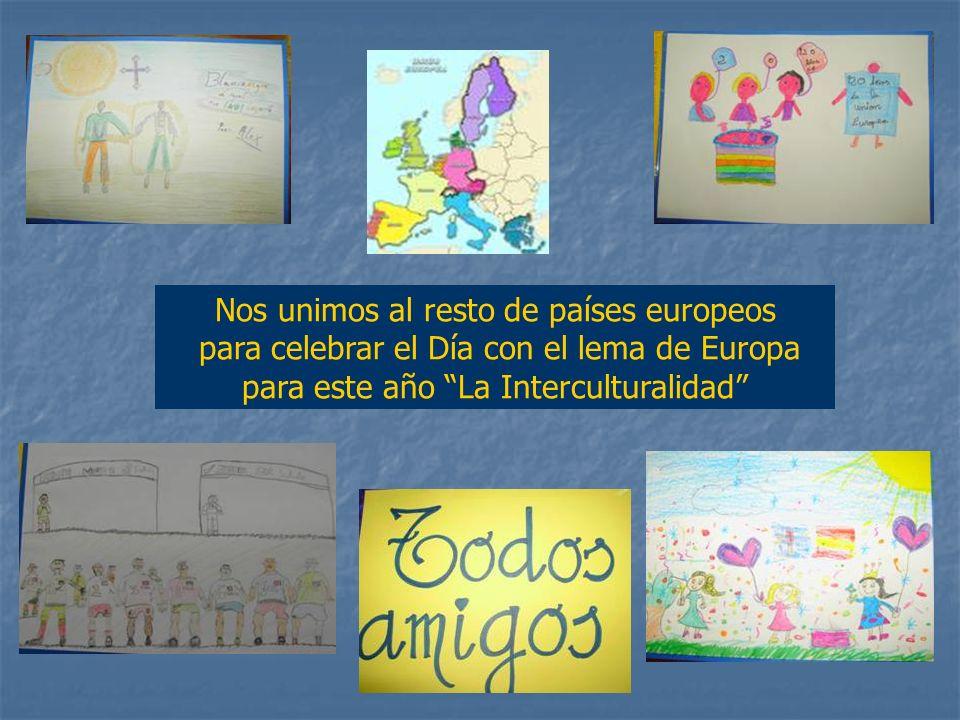Otra de las actividades que ha resultado muy atractiva para los alumnos ha sido Los Juegos de Europa, realizada con el profesor de Educación Física.