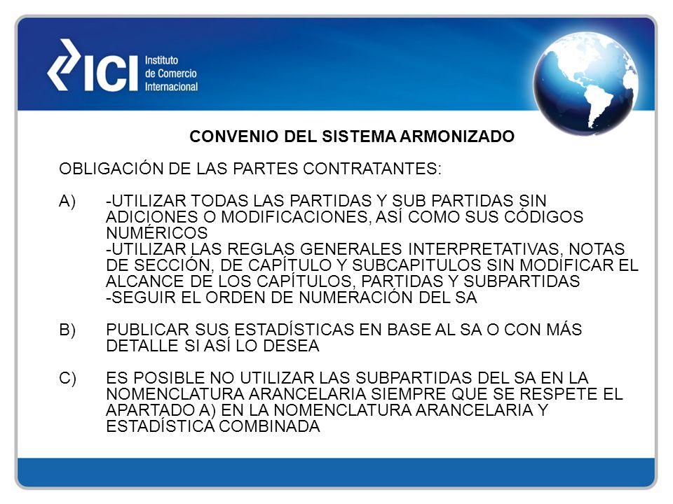 ANEXO 1.-Las administraciones nacionales de los Estados Partes emitirán decisiones, criterios y opiniones de carácter general sobre clasificación de mercaderías, en relación a la Nomenclatura Común del MERCOSUR y de acuerdo con sus respectivas legislaciones.