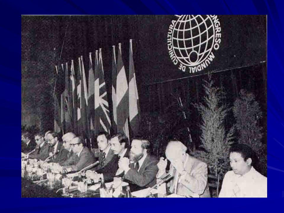 Vista del Salón del Palacio de Congresos de la FOIM – Barcelona 1980 2º Congreso Mundial de Cunicultura