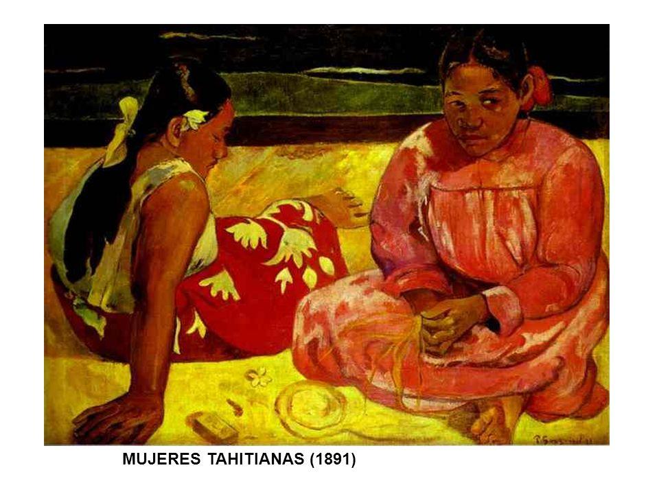 MUJERES TAHITIANAS (1891)