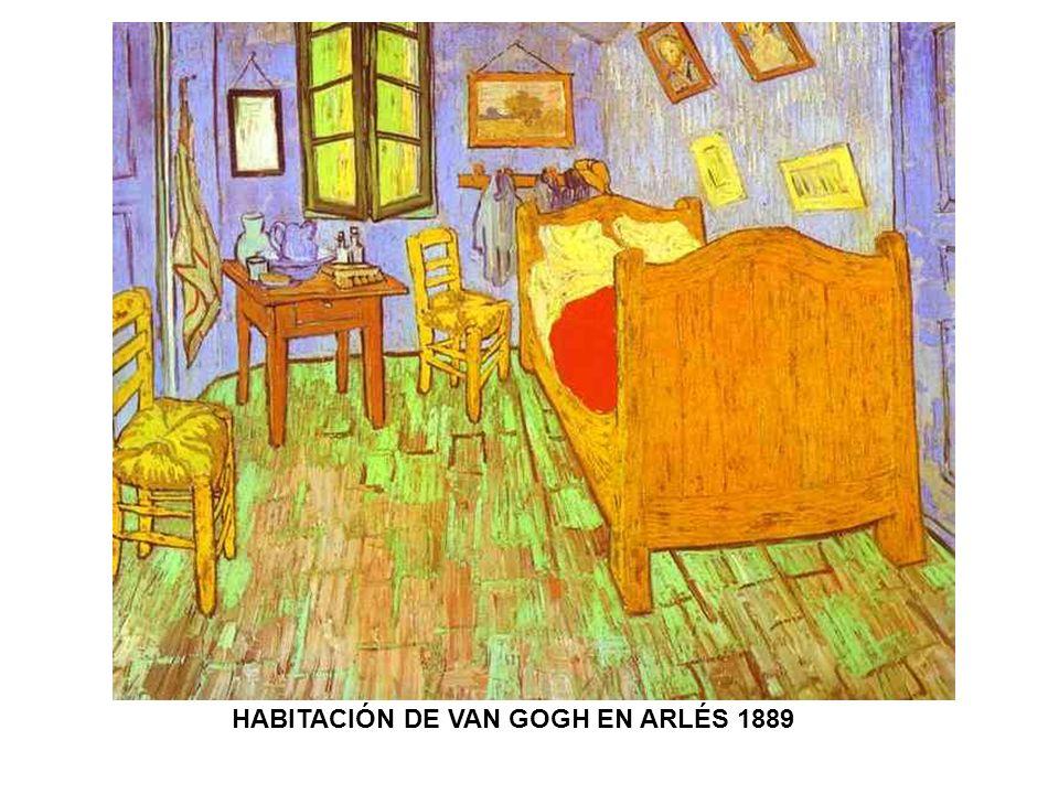 HABITACIÓN DE VAN GOGH EN ARLÉS 1889