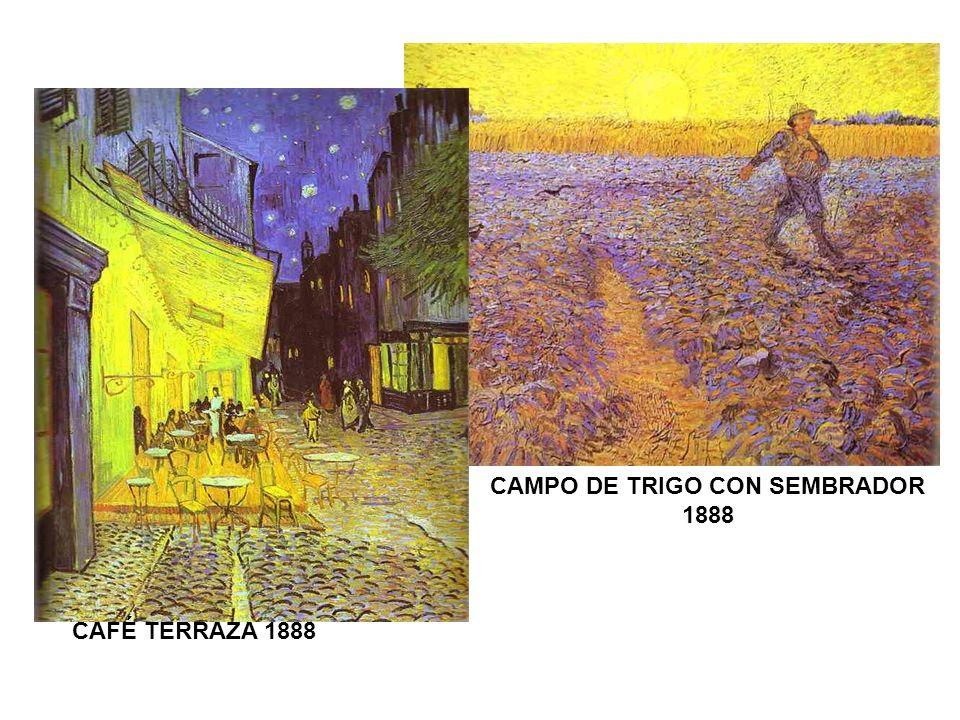 CAFÉ TERRAZA 1888 CAMPO DE TRIGO CON SEMBRADOR 1888