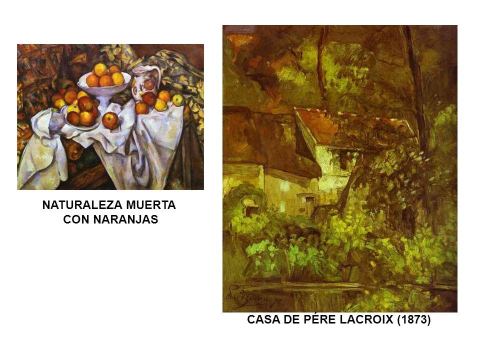 CASA DE PÉRE LACROIX (1873) NATURALEZA MUERTA CON NARANJAS