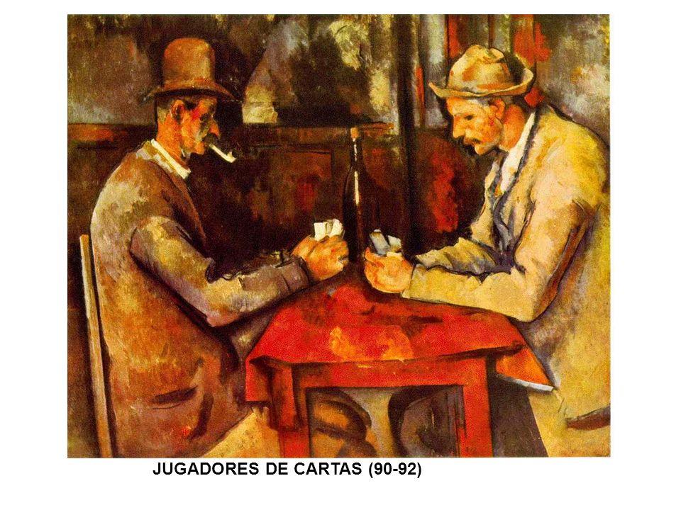 JUGADORES DE CARTAS (90-92)
