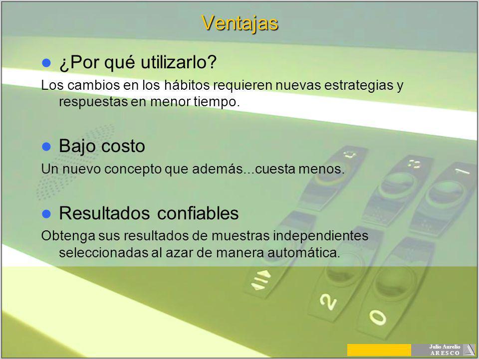 Julio Aurelio A R E S C OVentajas ¿Por qué utilizarlo.