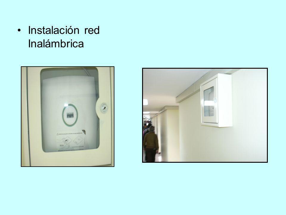 Instalación red Inalámbrica