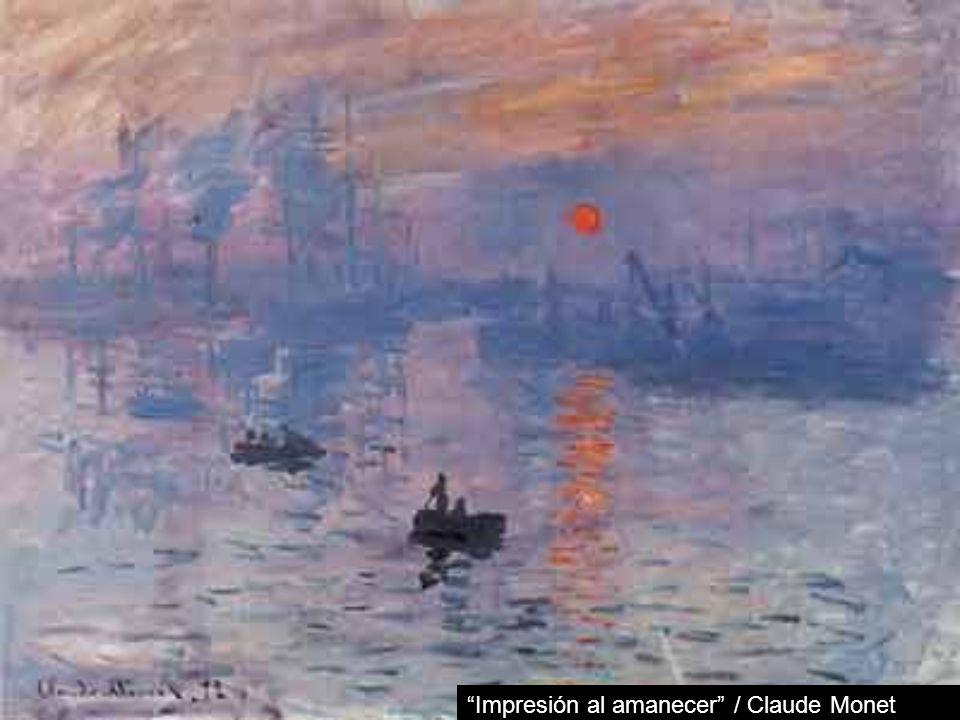 Impresión al amanecer / Claude Monet