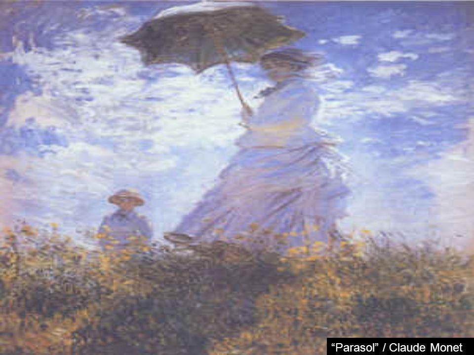 Parasol / Claude Monet