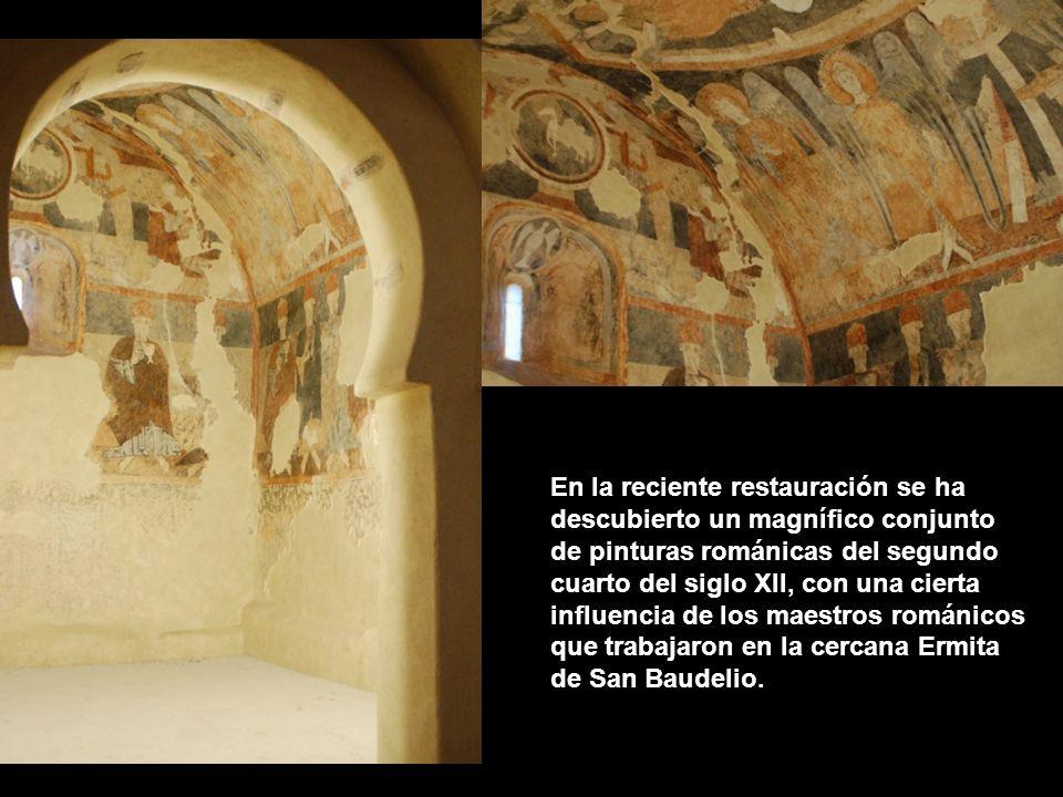 La ermita de San Miguel de Gormaz, arquitectura románica de finales del siglo XI y comienzos del XII.