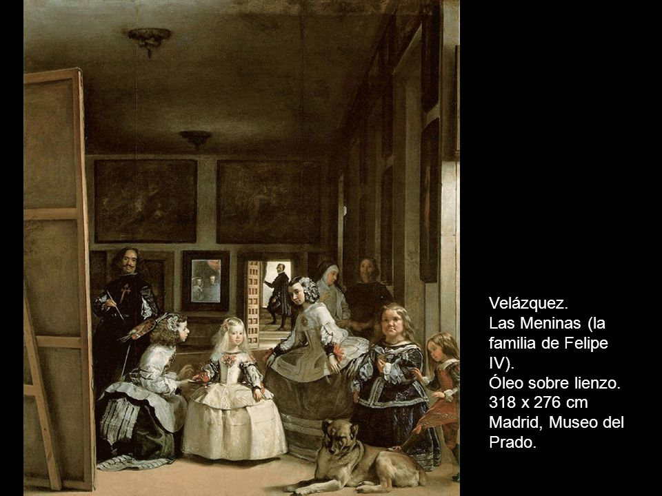 Concertino Rol Variaciones sobre las Meninas de Velázquez Repasemos esta obra maestra de la pintura de todos los tiempos