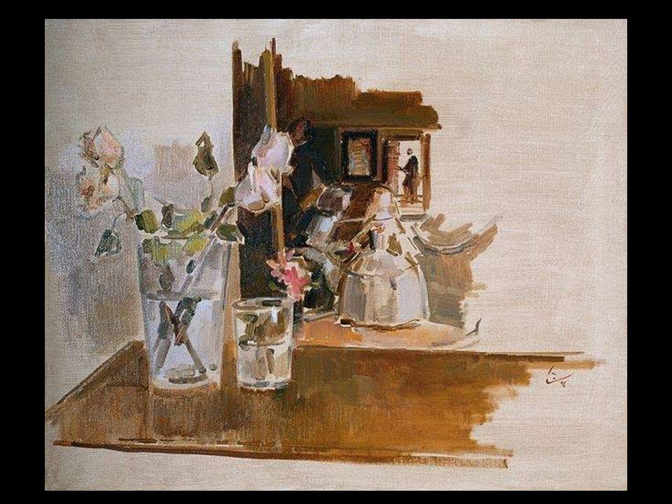 Y las delicadas imágenes de las Meninas de Velázquez en las acuarelas de Ramón Gaya