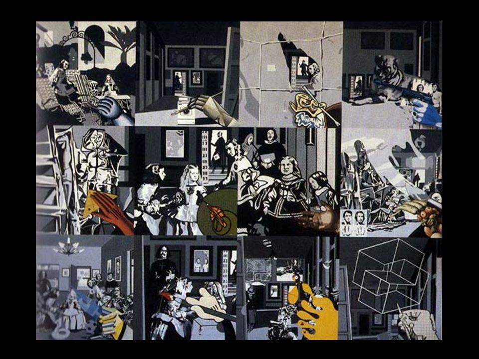 Un collage de Meninas, homenaje a Velázquez y Picasso.