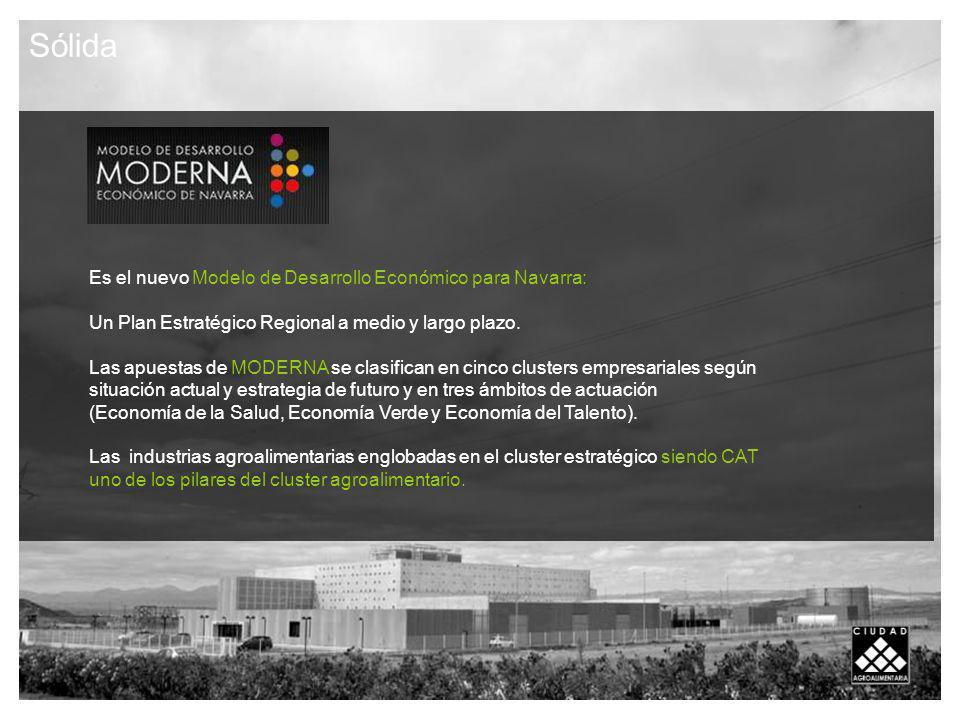 Es el nuevo Modelo de Desarrollo Económico para Navarra: Un Plan Estratégico Regional a medio y largo plazo.