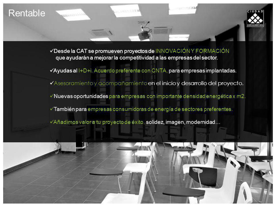 Desde la CAT se promueven proyectos de INNOVACIÓN Y FORMACIÓN que ayudarán a mejorar la competitividad a las empresas del sector.