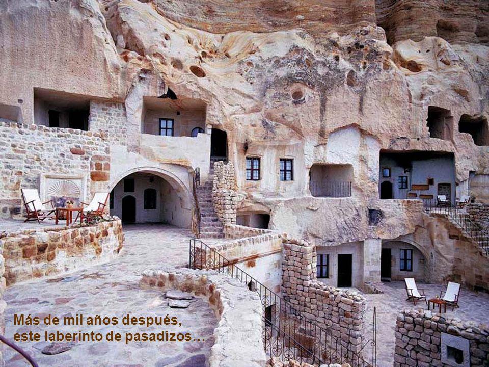 Más de mil años después, este laberinto de pasadizos…