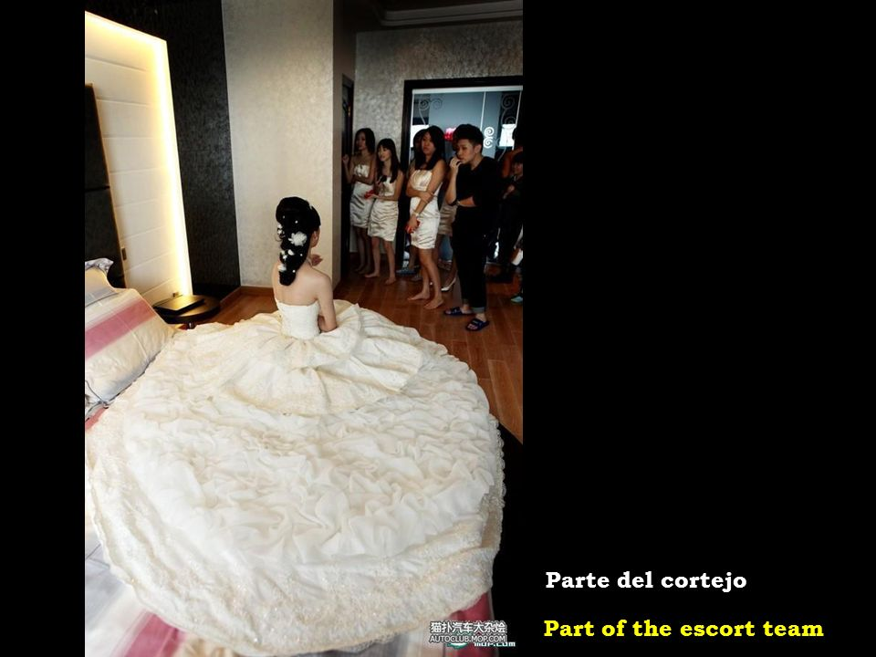 The lucky bride La afortunada novia