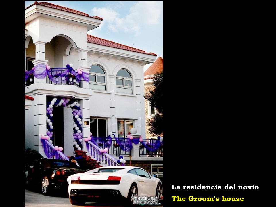 Wedding limo: Rolls-Royce Phantom La limusina de la pareja: un Rollo-Royce Phantom