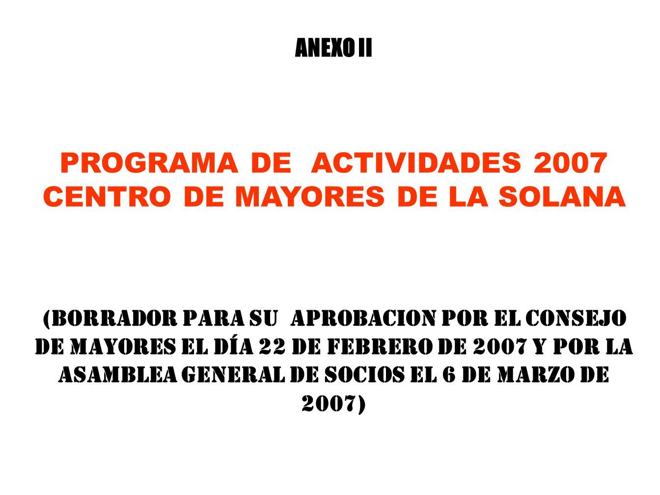RESUMEN DEL GASTO REALIZADO EN EL EJERCICIO 2006 Actividades Realizadas por AreasImporte en Euros Actividades Sociales10.870,17 Talleres de Cultura Fí