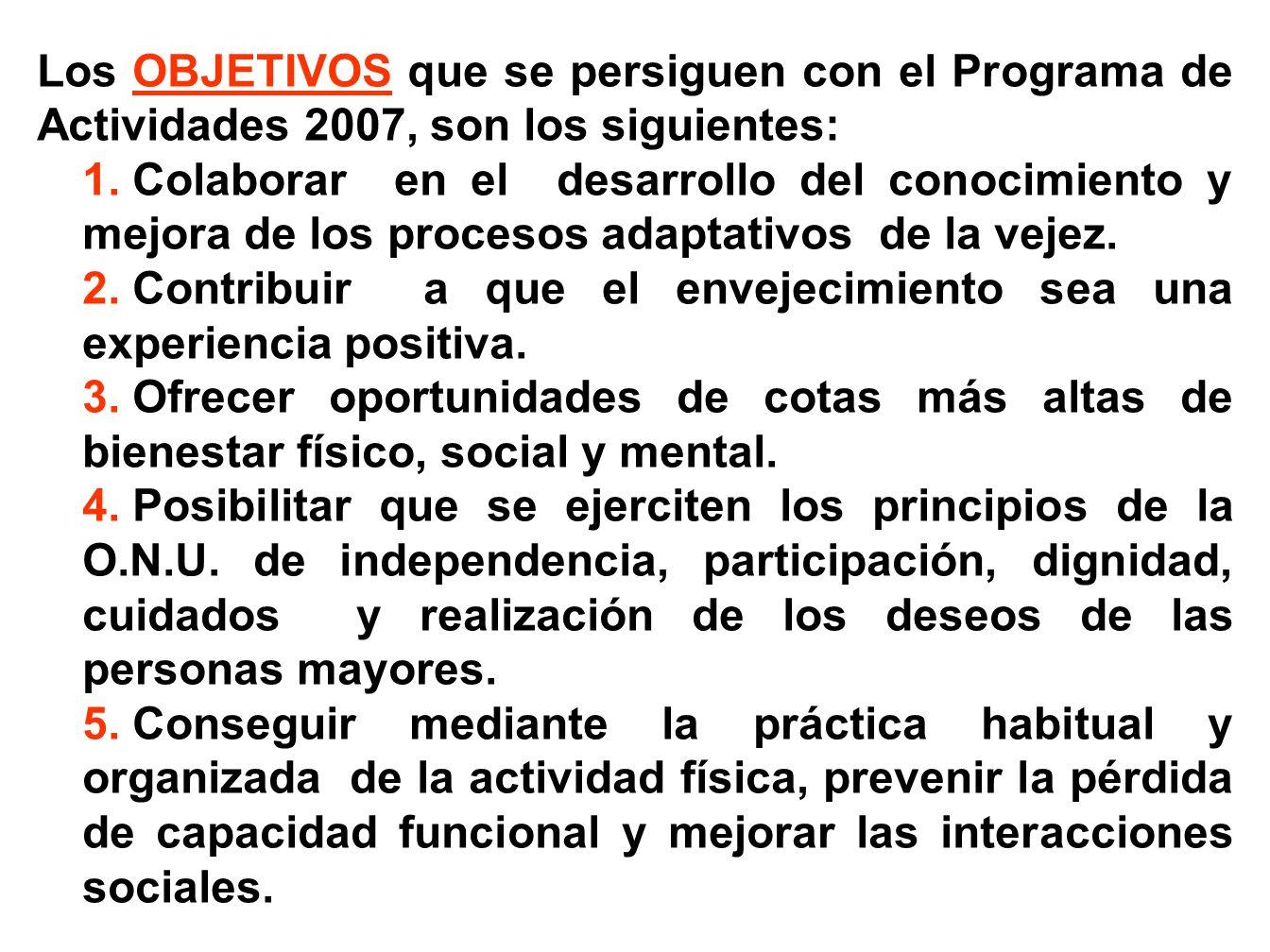 Las actividades que después se relacionan, responden a la filosofía del envejecimiento activo y están orientadas a promover la salud y el bienestar social de las personas mayores Socio/as y Usuarios/as del Centro de Mayores de La Solana.