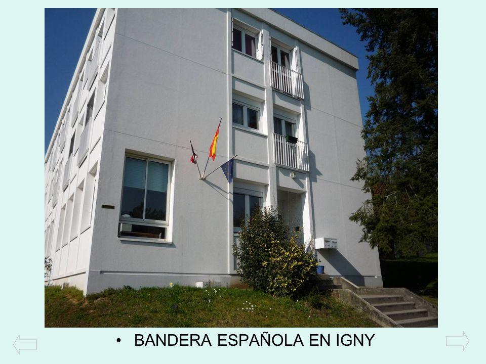 BANDERA ESPAÑOLA EN IGNY