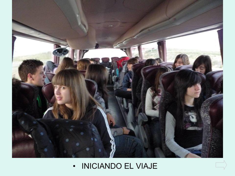 INICIANDO EL VIAJE