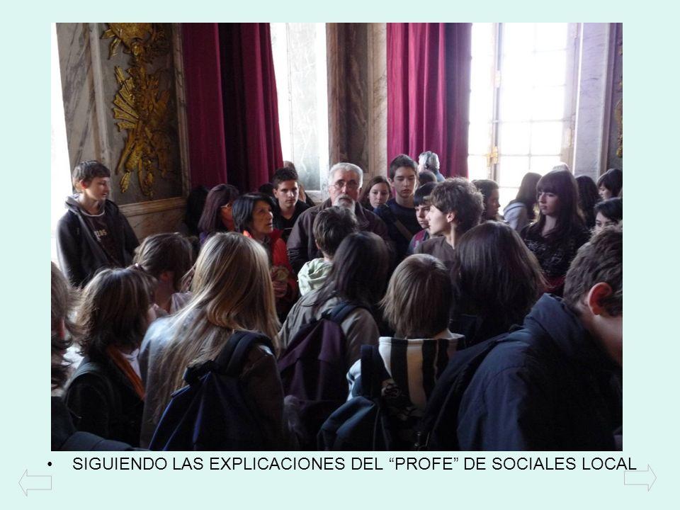 SIGUIENDO LAS EXPLICACIONES DEL PROFE DE SOCIALES LOCAL