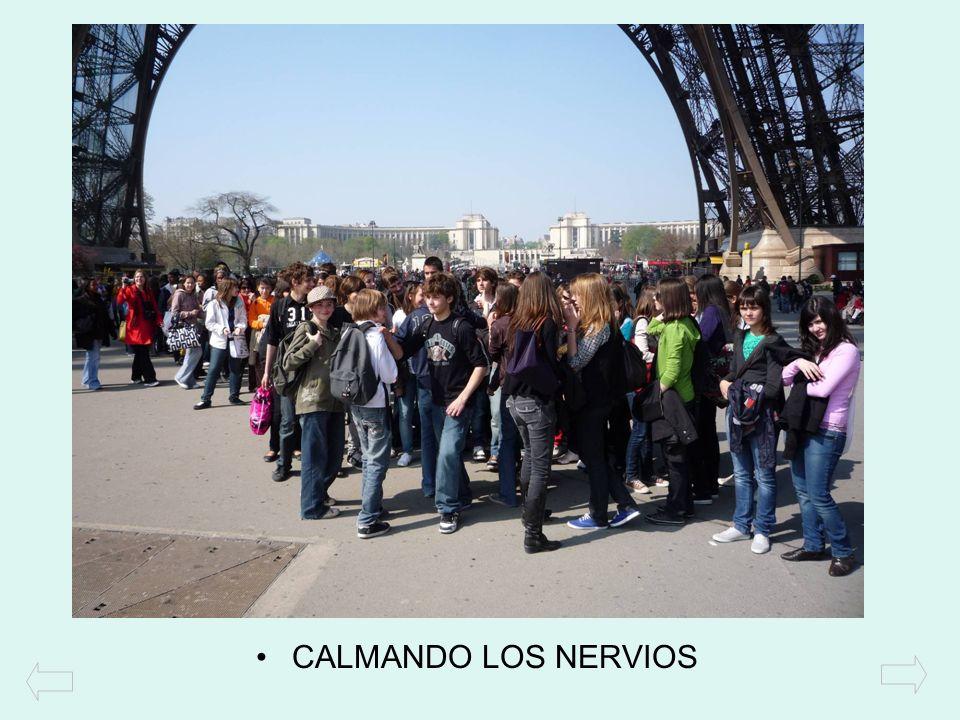 CALMANDO LOS NERVIOS