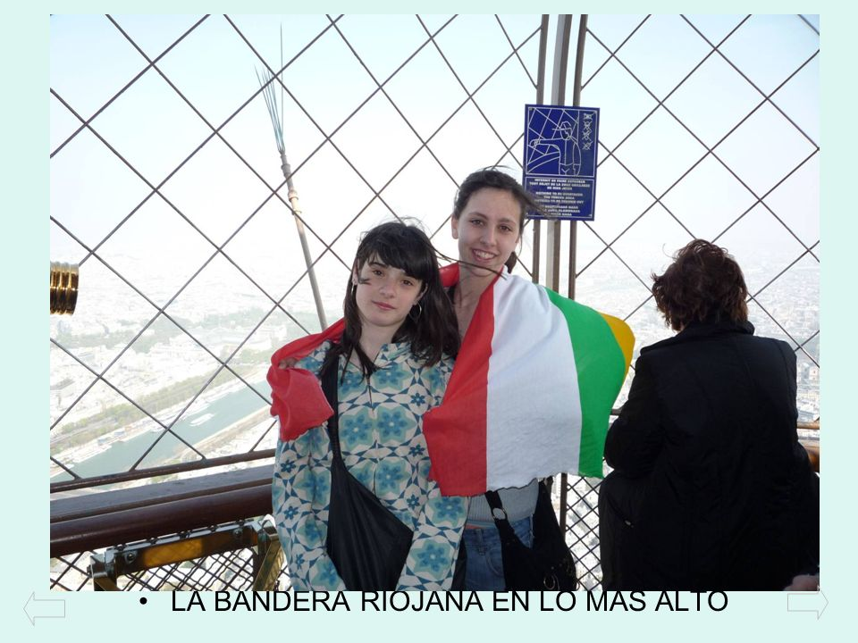 LA BANDERA RIOJANA EN LO MÁS ALTO