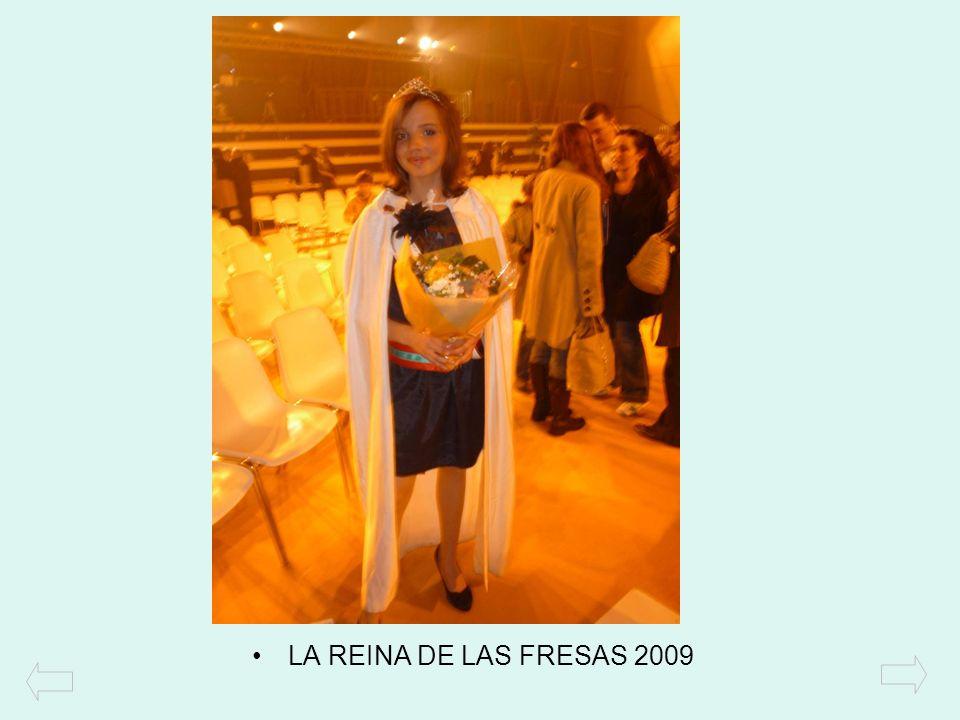LA REINA DE LAS FRESAS 2009