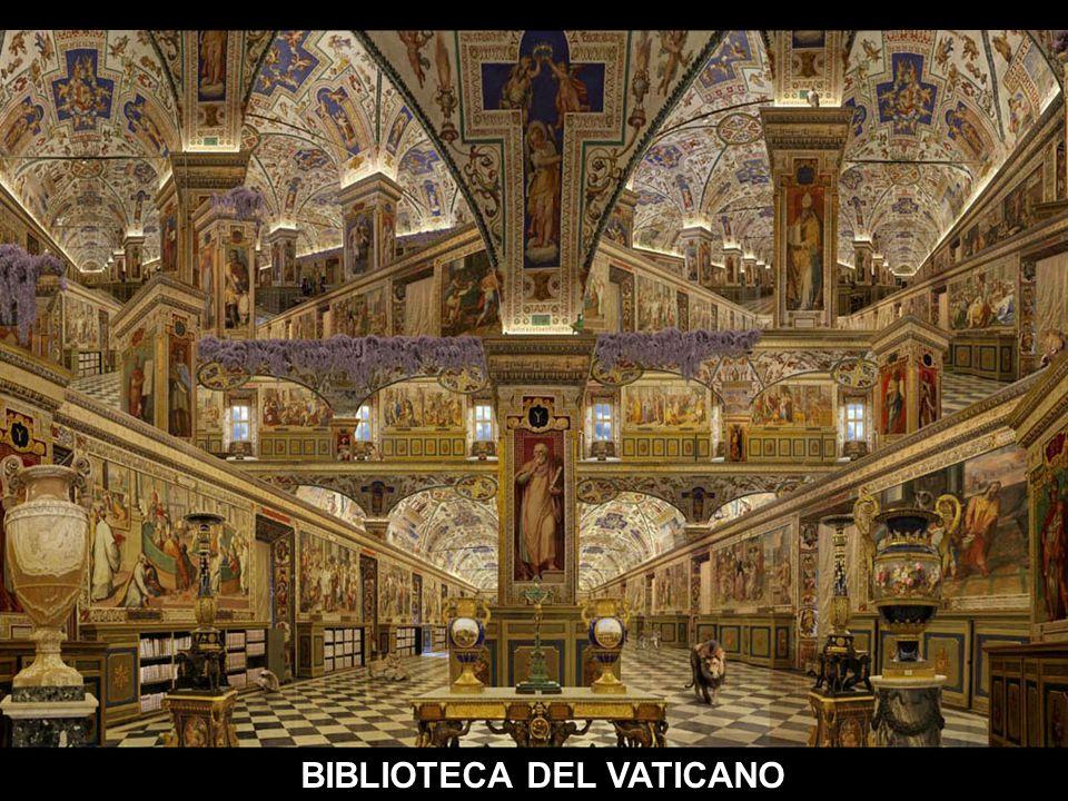 M M M BIBLIOTECA VATICANO (SALON SIXTINO) AUTOMATICO COROS DE LA OPERA =EL TROVADOR DE VERDI=