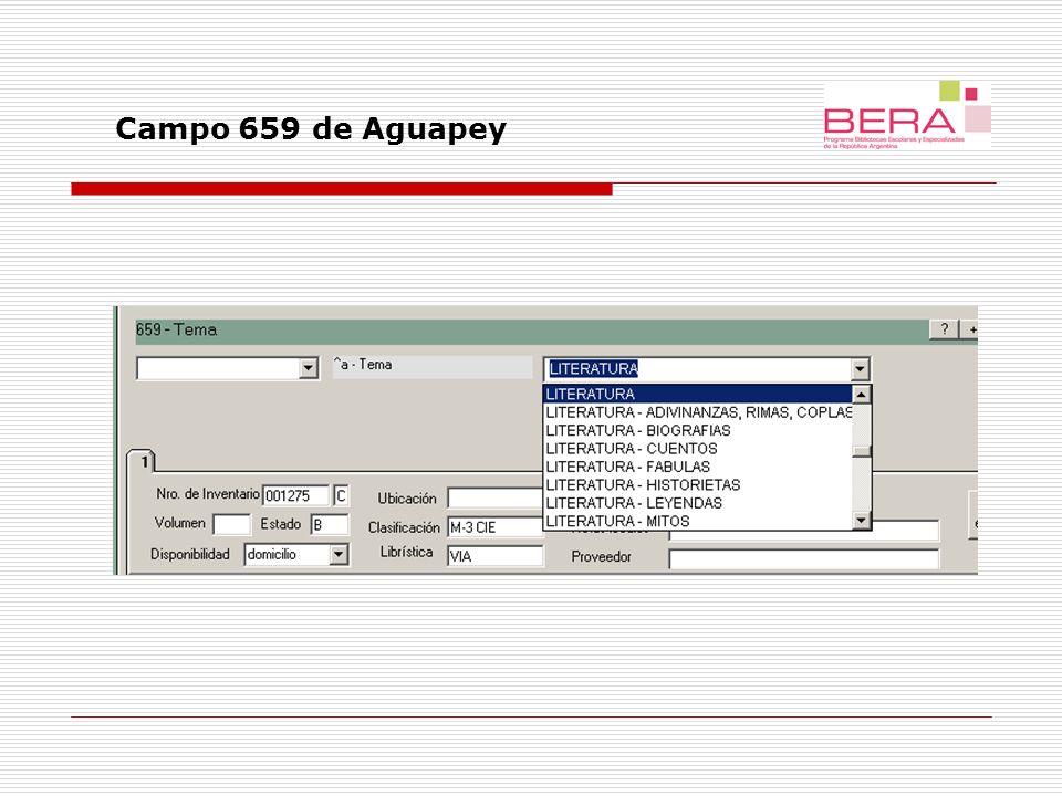 Campo 659 de Aguapey