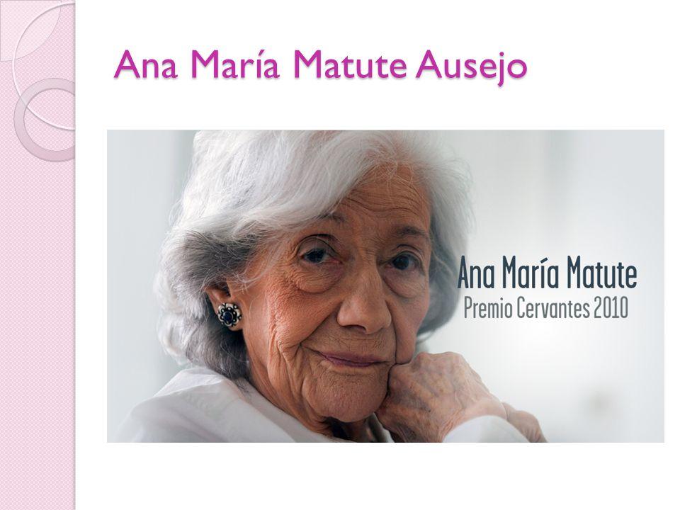 Ana María Matute Ausejo