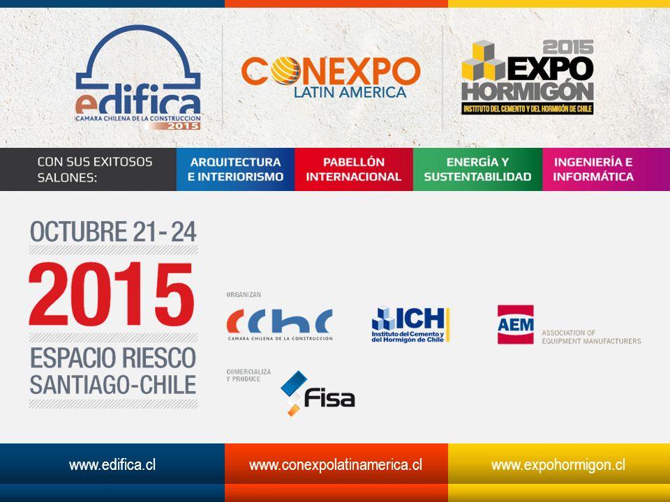 www.edifica.clwww.conexpolatinamerica.clwww.expohormigon.cl