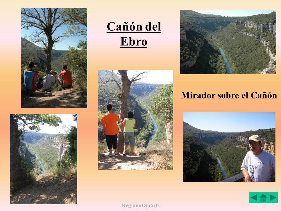 Regional Sports Cañón del Ebro Mirador sobre el Cañón
