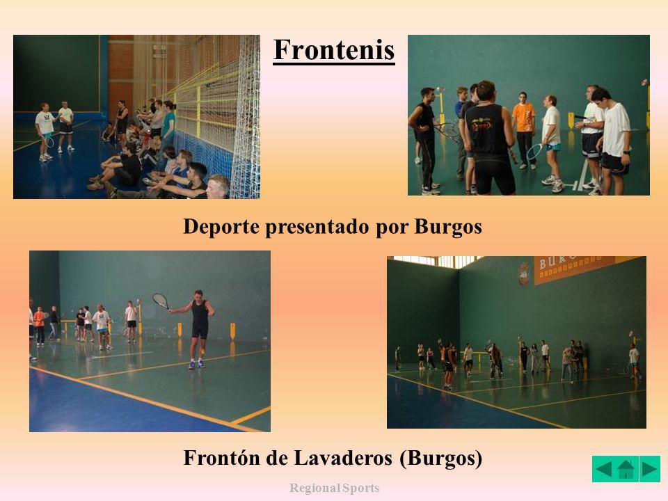 Regional Sports Frontenis Deporte presentado por Burgos Frontón de Lavaderos (Burgos)